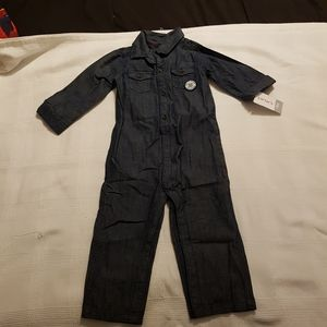 Carter's 18 months chambray romper
